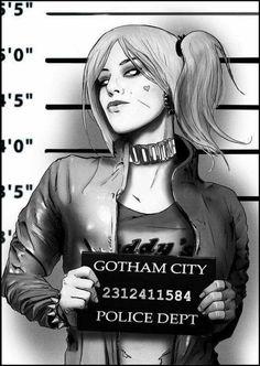 Harley Quinn - Art by Petri Rahkola Joker Y Harley Quinn, Harley Quinn Drawing, Comic Book Characters, Comic Character, Héros Dc Comics, Robin Comics, Harley Queen, Hearly Quinn, Der Joker
