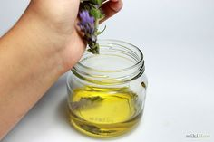 Taking my Lavender and making oil from it! I am so excited to try it!