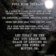 Full moon ritual!