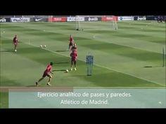 """Rueda de pase """"Y"""" del Atlético de Madrid del Cholo Simeone. - YouTube"""