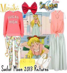 Sailor moon Style                                                       …