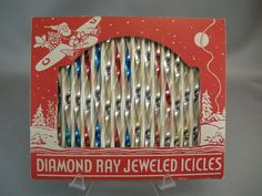 Diamond Ray Jeweled Icicles