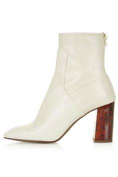 MASTER Tortoiseshell Heel Boots