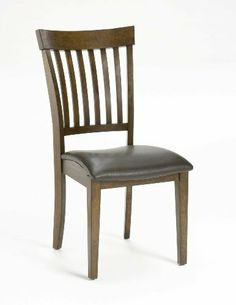 Hillsdale Furniture 4232-802 Arbor Hill Chairs Set Dining Chair, by Hillsdale Furniture. $259.99. Style Contemporary. Colonial Chestnut. Assembled dimensions 39 in. H x 23 in. W x 19.25 in. D. Finish:Colonial Chestnut, Upholstery:Medium Brown Bonded Leather Charm your guests with Hillsdale Furniture's Arbor Hill dining collection. Too modern to be country, but to rustic to be contemporary, with a classic mission styled chair and an unusual symmetrically sculpted table b...