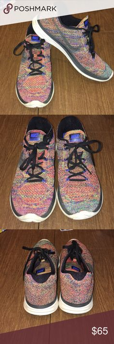 Nike Flyknit Lunar 3 Good condition, gently worn Fits more like 9.5 Nike Shoes Athletic Shoes