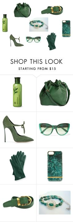 """Christmas Gifts."" by iridonousajewelry on Polyvore featuring Innisfree, Louis Vuitton, Casadei, Dolce&Gabbana, Mark & Graham and Richmond & Finch"