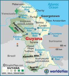 Guyana, South America - We rode in the back of a bedford army truck for 16 hrs from Georgetown to Lethem.