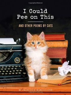 I Could Pee on This: And Other Poems by Cats  ( LOL, it's a real book on Amazon :: http://www.amazon.com/Could-Pee-This-Other-Poems/dp/1452110581# )