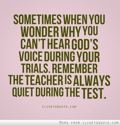 The teacher is always quiet during the test. #quotes #quote