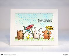 Rain or Shine is the NEW Mama Elephant STAMPtember® Exclusive! - Simon Says Stamp Blog