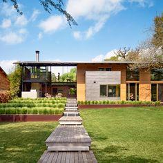 AIA housing award winners: Hog Pen Creek Retreat; Austin, Texas by Lake Flato Architects