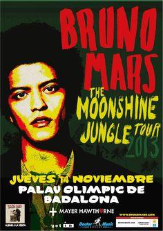 Nuevas entradas a la venta para el concierto de Bruno Mars en Barcelona en doctormusic.com