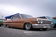 Wheels Are Everything: Mooneyes X-Mas Party 2013 1963 Chevy Impala, Lowrider, Wheels, Bmw, Traditional, Party, Parties