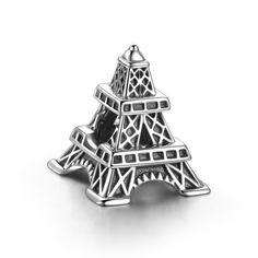 France Eiffel Tower Charm 925 Sterling Silver