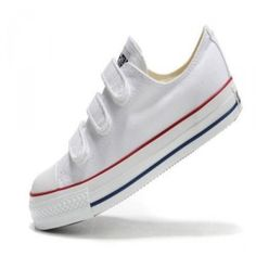 a01456e2c785 Cheap buy Classic converse all star womens shoes velcro white low top canvas  outlet store