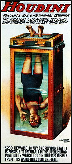 Water Torture Cell #Magic #magician #Illusion