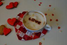 Un café gourmand avec mon Valentin...