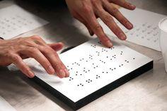 Braille type by Simone Fahrenhorst.