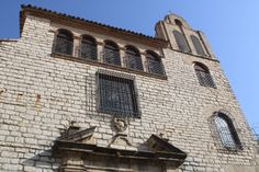 fachada de la iglesia del convento de la santísima trinidad