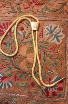 Vintage Western Bolo Tie by CafeChaCha on Etsy, $9.50