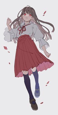 Manga Girl, Chica Anime Manga, Anime Art Girl, Kawaii Anime, Drawing Reference Poses, Drawing Poses, Pretty Art, Cute Art, Character Inspiration