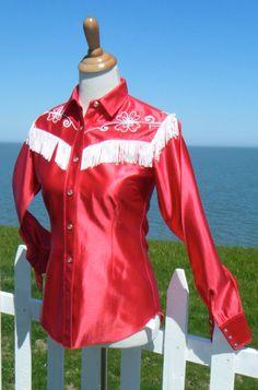 H BAR C Ranchwear Fringed Western Shirt