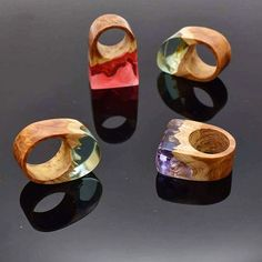 What is your favourite shape and colour?  We have just done 4 new rings with…