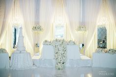 WedLuxe– A Winter White Wedding   Photography by: Mimmo & Co Follow @WedLuxe for more wedding inspiration!
