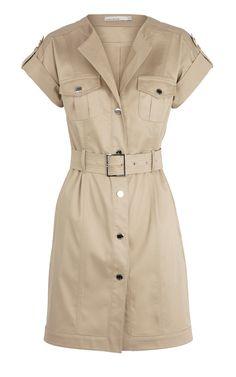 New Karen Millen Shirt Dress pixels Cute Summer Dresses, Stylish Dresses, Casual Dresses, Dresses For Work, Denim Fashion, Look Fashion, Shirt Dresses Uk, Cheap Designer Clothes, Short Dresses