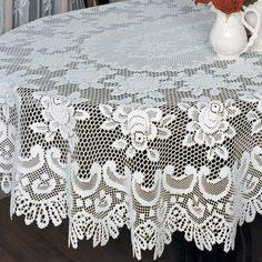 Rose Tablecloth