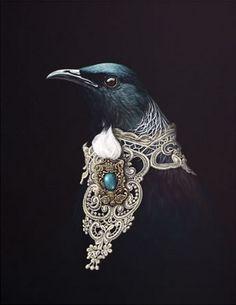 Adorned Orator by Jane Crisp - Art Prints New Zealand Illustrations, Illustration Art, New Zealand Art, Nz Art, Maori Art, Kiwiana, The Orator, Wall Art For Sale, Pet Portraits