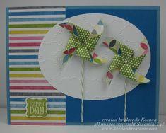 Stampin' Up! new Pinwheel Sizzlet!|Keenan Kreations