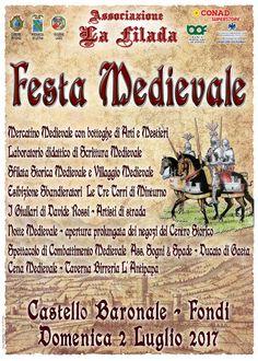 Italia Medievale: Festa Medievale a Fondi (LT)