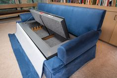 Couch Bunker Safe and Hidden Safe Furniture : BedBunker Safes Hidden Gun Safe, Hidden Gun Storage, Weapon Storage, Secret Storage, Hidden Compartments, Secret Compartment, Bunker, Secret Hiding Places, Panic Rooms
