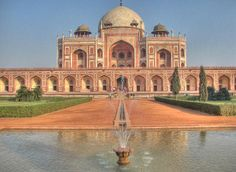Humayun's tomb is the tomb of the Mughal Emperor Humayun and it's located in Dheli India, an astonishing structure that has a lot of history and mystery at the same time.