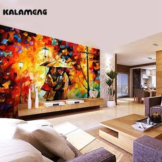 KALAMENG Custom Modern Luxury Photo Wall Mural 3D Wallpaper Papel De Parede  Living Room Tv Backdrop Wall Paper OF Sweethear #Affiliate