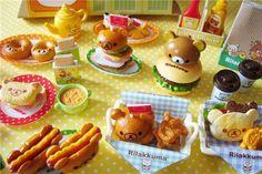 Rilakkuma Makumaku Hamburger Re-Ment on Flickr