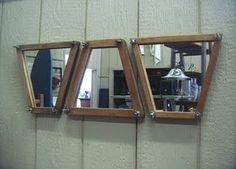 Tennis racket stretchers Mirrors Cool Cottage Decor