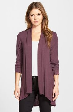 Bobeau+Long+Cardigan+available+at+#Nordstrom - I have this in a few colors