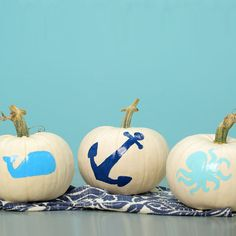 Fun and easy no-cut Halloween pumpkin decorations