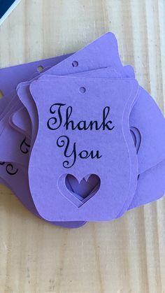Scentsy Consultant Heart Thank You Tags set of by StuckOnACloud