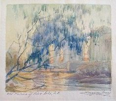 Emerson Lewis B 1892 Vintage Early California Landscape Masterpiece Painting | eBay