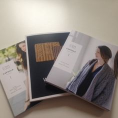 Capsule Fall 2015 and Capsule Winter 2017 for Brooklyn Tweed Winter 2017, Fall 2015, Brooklyn Tweed, Yarn Shop, Knitting, Books, Threading, Libros, Tricot