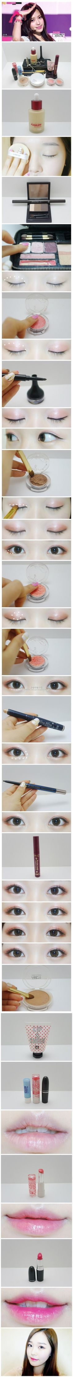 Korean make up   http://eyecandyscom.tumblr.com  www.AsianSkincare.Rocks