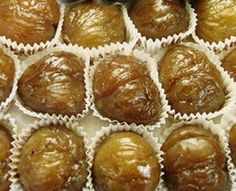 Candied Chestnuts Recipe: Candied Chestnuts