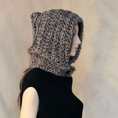 Hooded Cowl  Crochet   Hood   Pixie Hat  by endlesscreation, $42.00