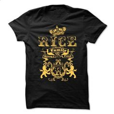 RICE  Family Strong Proud  - #cute hoodies #tee shirt design. I WANT THIS => https://www.sunfrog.com/Names/RICE-Family-Strong-Proud-.html?id=60505