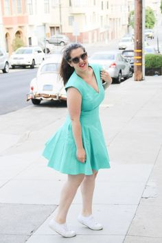 making a dress casual