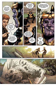 HQBR - Thanos Rising (2013) - Capitulo #1