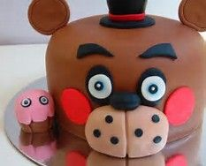 Image result for five night at freddys cake